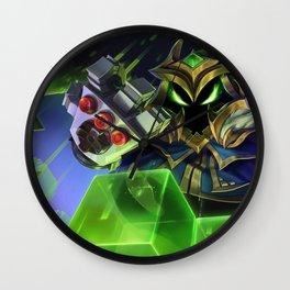 Final Boss Veigar League Of Legends Wall Clock