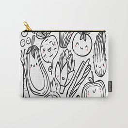 Funny-vegetables Carry-All Pouch