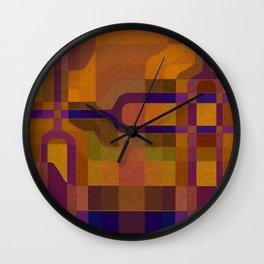 """Retro Labyrinth"" Wall Clock"