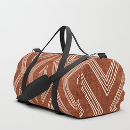 Birch in Rust Duffle Bag