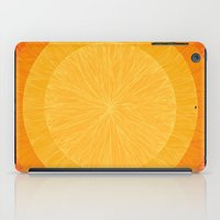 pulp iPad Cases featuring Pulp Saffron by Anchobee