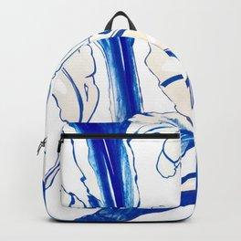 Plant in Blue Marker - Leaf of Life Miracle Leaf - Original Blue Backpack