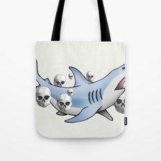 Shark & Skulls Tote Bag
