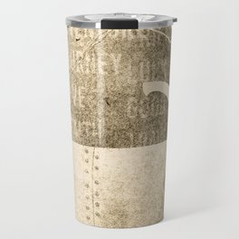 Tea and Tasseomancy, Sepia Travel Mug