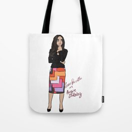 Lana Parrilla as Angie Ordonez (Spin City TV Show) Tote Bag