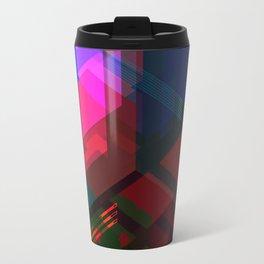Abstract effect of hologram Travel Mug