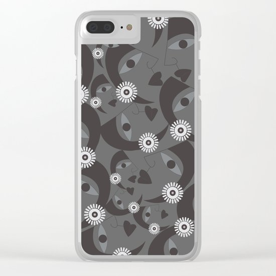 women 3 Clear iPhone Case