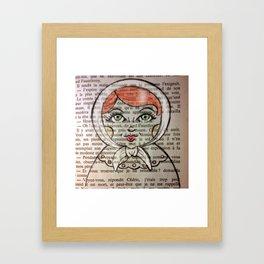 Matrioska number 2 Framed Art Print