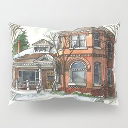 Victorian House in The Avenues Pillow Sham