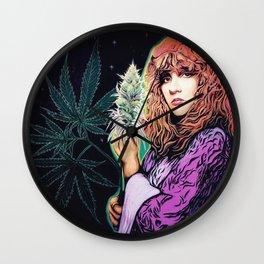 Stevie Nicks Tribute Mural, Gainesville Florida Wall Clock