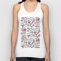 kitchen Tank Tops featuring Kitchen by Beatriz Sanches