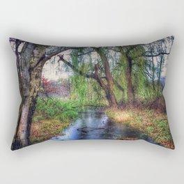 Wenn die Weiden Trauer tragen (When the willows wear mourning) Rectangular Pillow