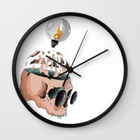 imagine Wall Clocks featuring Imagine by PAFF
