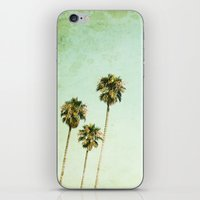 palm trees iPhone & iPod Skins featuring palm trees by Mareike Böhmer