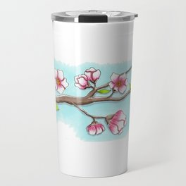 Almond Tree Travel Mug