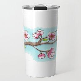 Almond Tree Travel Mug