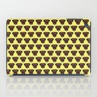 polkadot iPad Cases featuring Terrier Polkadot by Luke Clark