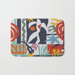 Inspired to Matisse Bath Mat