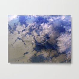 Puddles Can Reflect Too Metal Print