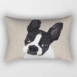 Boston Terrier 2015 Rectangular Pillow