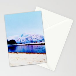 Corpach Sea loch, Highlands of Scotland Stationery Cards