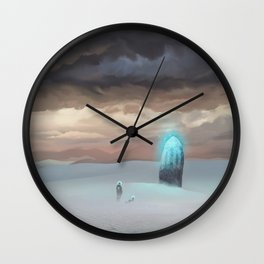 Ancient Obelisk Wall Clock