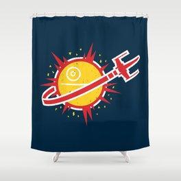 Great Shot, Kid! Shower Curtain
