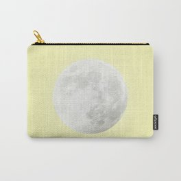 WHITE MOON + CANARY YELLOW SKY Carry-All Pouch