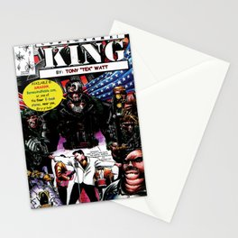 """Code Name: King""  - Comic Book Promo Poster  Stationery Cards"