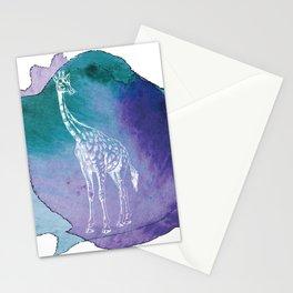 Color Spot Safari Giraffe Stationery Cards