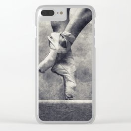 Dancing shoes Clear iPhone Case