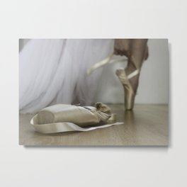 La bailarina Metal Print
