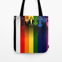 lanterns Tote Bags featuring Lanterns by Madeoftin