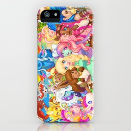 Dollightful Banner Art 2018 iPhone Case