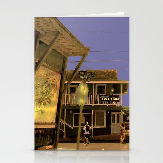 Tattoo Kauaii Stationery Cards