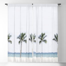 Palm trees 6 Blackout Curtain