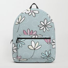 Cute Floral Ditsy Pattern Backpack