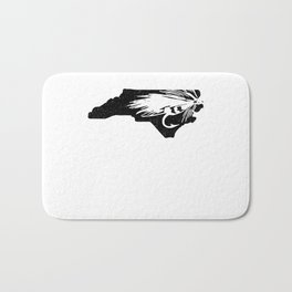 North Carolina Fly Fishing Hook River Bath Mat