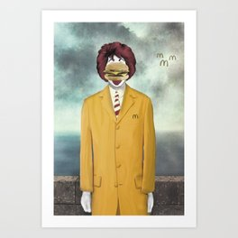 The Son of Cheese Art Print