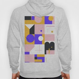 Abstract Geometric Composition 096 Hoody