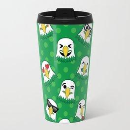 Eagles Emojis Travel Mug