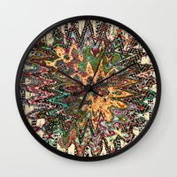 country Wall Clocks featuring country by Ingrid Padilla