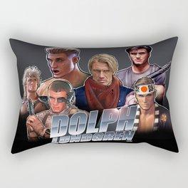 Dolph Lundgren Rectangular Pillow