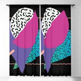 Memphis pattern 39 - 80s / 90s Retro Blackout Curtain