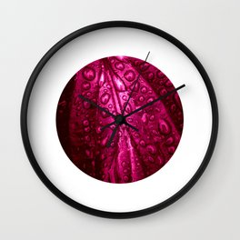 water drops XXII Wall Clock