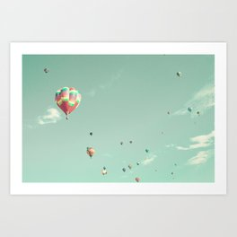 Flying Aerotonda Art Print