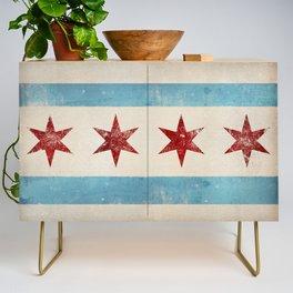 Chicago Flag Credenza