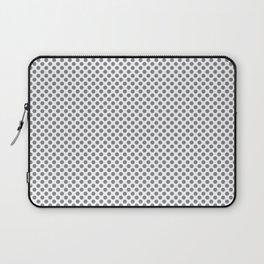 Sharkskin Polka Dots Laptop Sleeve