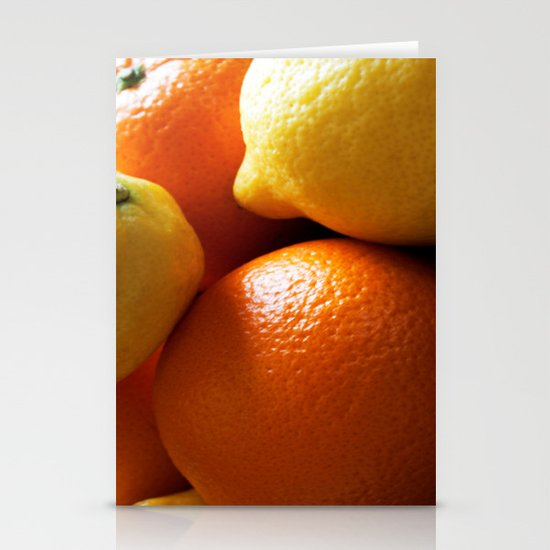 Oranges & Lemons Stationery Cards