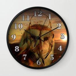 Dream Catcher and Magic Owl Wall Clock